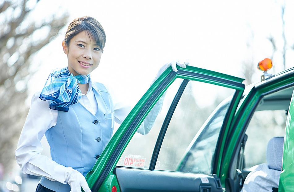 女性ドライバー活躍中!